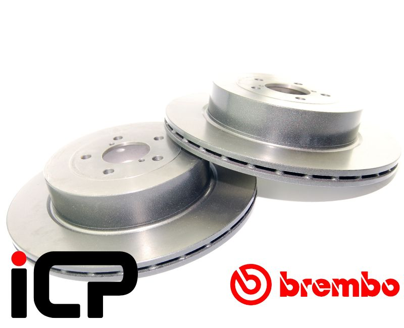 Subaru Impreza STi 05-07 114PCD Brembo High Carbon Rear Brake Discs