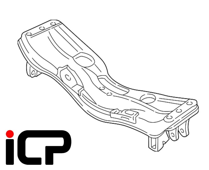 Subaru Impreza Turbo 92-00 Front Engine Bed Subframe