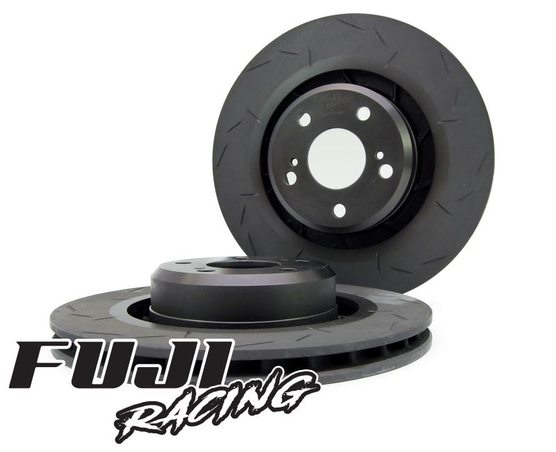 Fuji Racing High Carbon Front Slotted 295mm Brake Discs