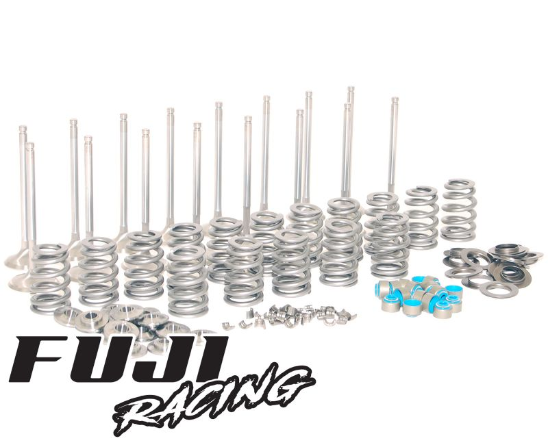 Fuji Racing Power Package Valve Spring, Stainless Inlet & Exhaust Valve Kit