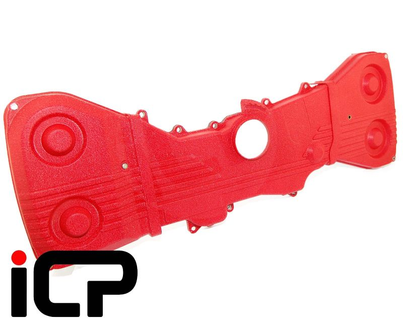 Subaru Impreza 22B Genuine STi Red Timing Belt Covers STS075500010