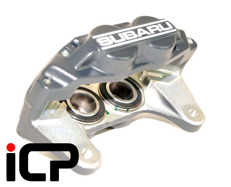 Subaru Impreza Genuine Front 4 Pot Black Brake Calipers