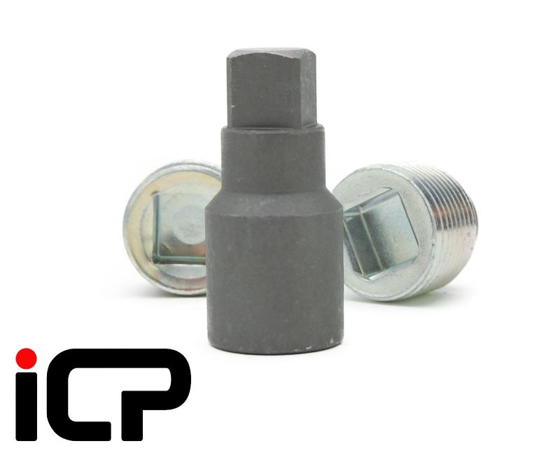 ICP Rear Diff Square Drain/Fill Plug Socket