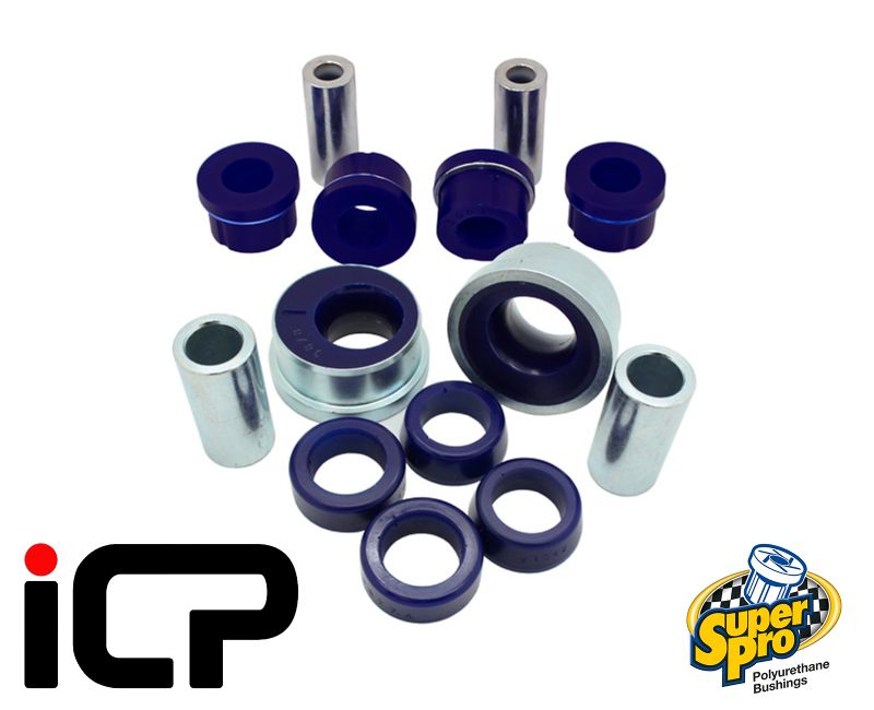 Subaru BRZ & Toyota GT86 Superpro Front Bottom Arm Bush Kit With Improved Alignment SPF3878K