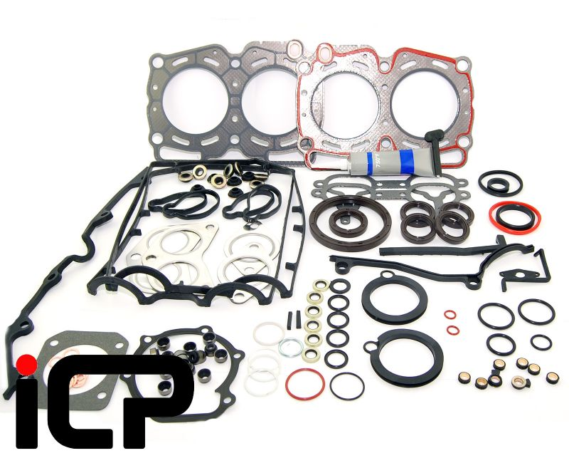 Subaru Impreza Turbo 96-97 ICP Full Gasket Set With Fibre Head Gaskets & Grey Sealant